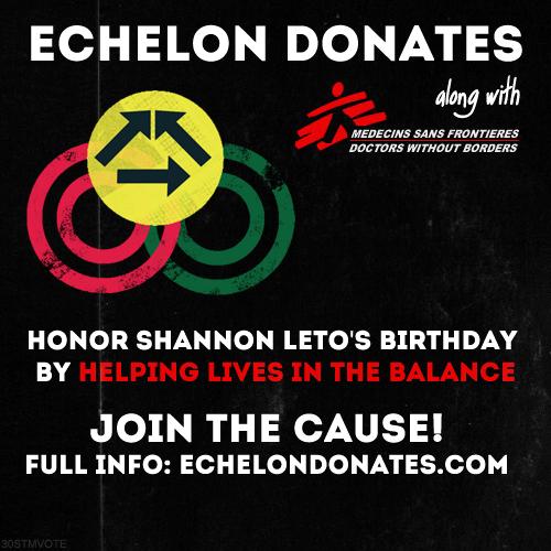 ED Honors Shannon Leto