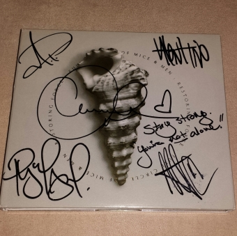 Signed Of Mice & Men CD