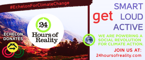 Echelon For Climate Change Promo Banner